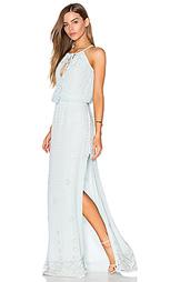 Платье макси на шлейках - Tessora