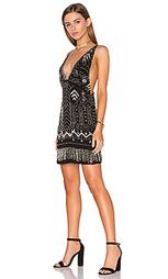 Украшенное коктейльное платье - Tessora