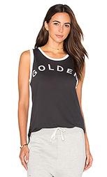 Майка light jersey golden ringer muscle - SUNDRY