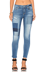 Узкие джинсы patch ankle - 7 For All Mankind
