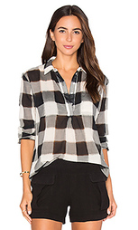 Топ gauze plaid shirting long sleeve - Stateside