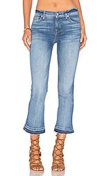 Укороченные расклёшенные джинсы - 7 For All Mankind