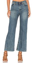 Широкие джинсы с высокой посадкой hopkin - Free People