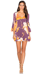 Мини платье с расклёшенными рукавами - Rachel Pally