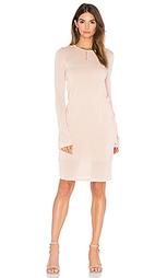 Платье миди sweater - BCBGMAXAZRIA