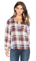 Шелковая рубашка на пуговицах safford - Joie