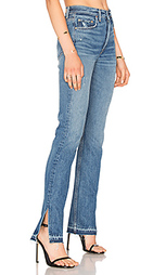 Узкие джинсы с разрезами высокая посадка natalia - GRLFRND