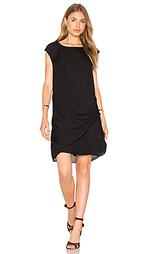 Шелковое асимметричное платье - Heather
