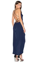 Макси платье с широким вырезом на шнуровке - Shona Joy
