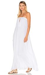 Платье макси без бретелей sail - Indah