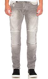 Облегающие мото джинсы - Marcelo Burlon