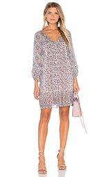 Шелковое цельнокройное платье foxley - Joie