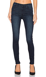 Супер скини джинсы с высокой посадкой gisele - Black Orchid