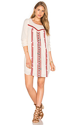 Embroidered boho dress - Maison Scotch