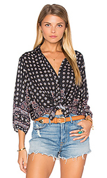 Рубашка с застёжкой на пуговицах gypsy girl - AUGUSTE