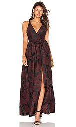 Вечернее кружевное платье из жаккарда - Cynthia Rowley