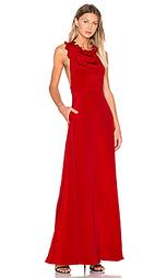 Вечернее платье с рюшами без рукавов - JILL JILL STUART