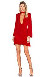 Мини платье с глубоким v-образным вырезом - JILL JILL STUART