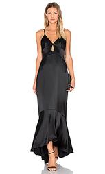 Атласное вечернее платье с подкладкой - JILL JILL STUART