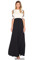 Вечернее платье с рюшами вверху - JILL JILL STUART