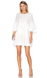 Платье из шелковой смеси foley - Acler