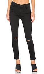 Рваные укороченные джинсы - Etienne Marcel
