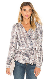Блузка с запахом the long sleeve - LAcademie