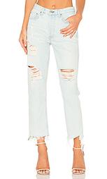 Прямые джинсы высокой посадки helena - GRLFRND