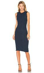 Цельнокройное платье из букле без рукавов - Rebecca Taylor