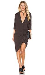 Платье-рубашка с завязкой - YORK street