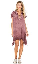 Платье с ажурным воротником - YORK street
