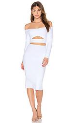 Миди-платье с вырезом marilyn - Donna Mizani