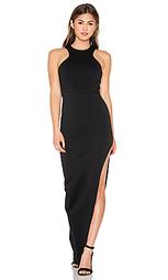 Макси платье с y-образными шлейками спереди - Donna Mizani