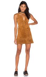 Платье с завязкой спереди roxy - Capulet