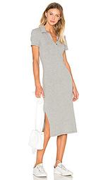 Платье с застежкой сверху короткий рукав - James Perse