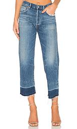 Укороченные джинсы с не подшитым низом cora - Citizens of Humanity