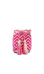 Средняя сумка-мешок с зигзагообразным рисунком - Guanabana