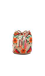 Цветочная средняя сумка-мешок - Guanabana