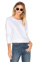 Флисовый пуловер с длинным рукавом-доломан - James Perse