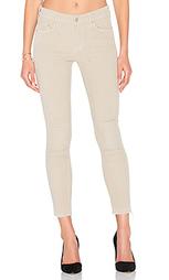 Укороченные вельветовые джинсы с закаткой looker - MOTHER