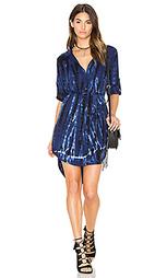 Платье-рубашка с размытым рисунком - Bella Dahl