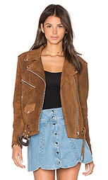 Замшевая мотокуртка western - Understated Leather
