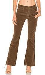 Вельветовые брюки с потрепанным низом weekender - MOTHER