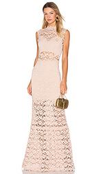 Кружевное макси платье с вырезом dixie - Nightcap