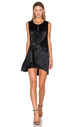 Драпированное платье с узлом - McQ Alexander McQueen