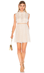 Обегающее сверху и плиссированное от пояса платье forever lace - Free People