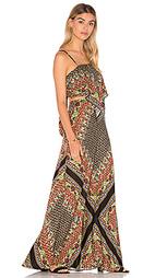 Макси-платье с вырезами - FARM