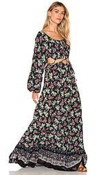 Макси платье florina - FARM