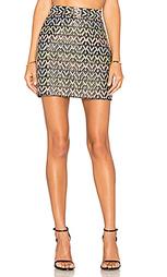 Мини юбка из шеврона modern - MILLY