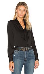 Блуза с завязкой на шее - MILLY